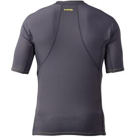 NRS H2Core Rashguard Short Sleeve Shirt Men Gunmetal
